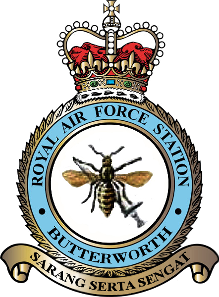 RAF Butterworth Badge