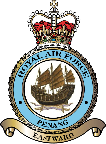 RAF Penang Badge